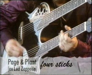 Page and Plant live DVD