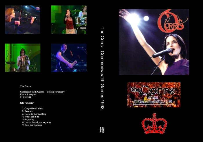 The Coors Live DVD 1998