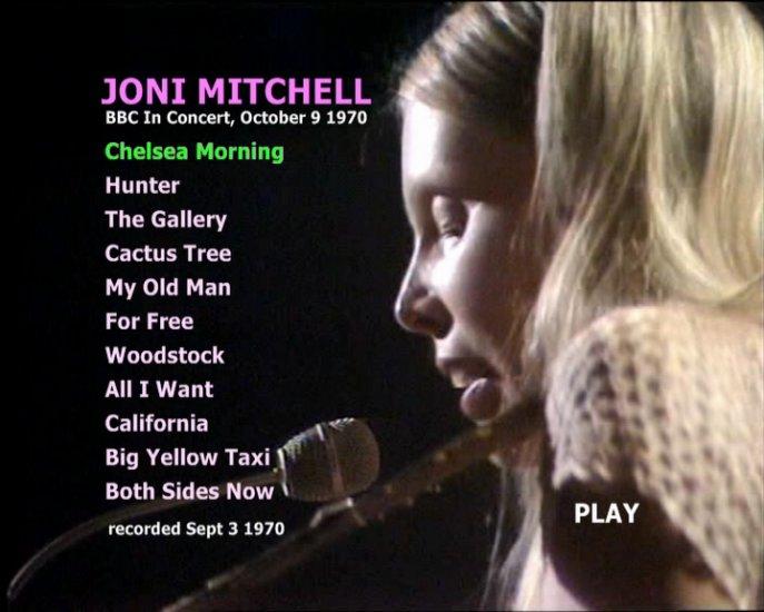 Joni Mitchell 1970