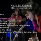Neil Diamond Live Solo Acoustic DVD 1973