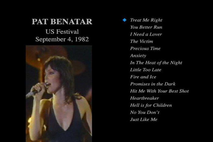 Pat Benatar 9/82