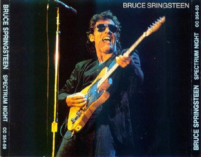 Bruce Springsteen & The E Street Band Spectrum Night 15 July 1981