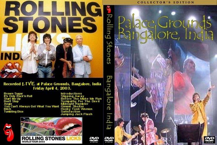 The Rolling Stones Palace Grounds, Bangalore, India 04-04-2003