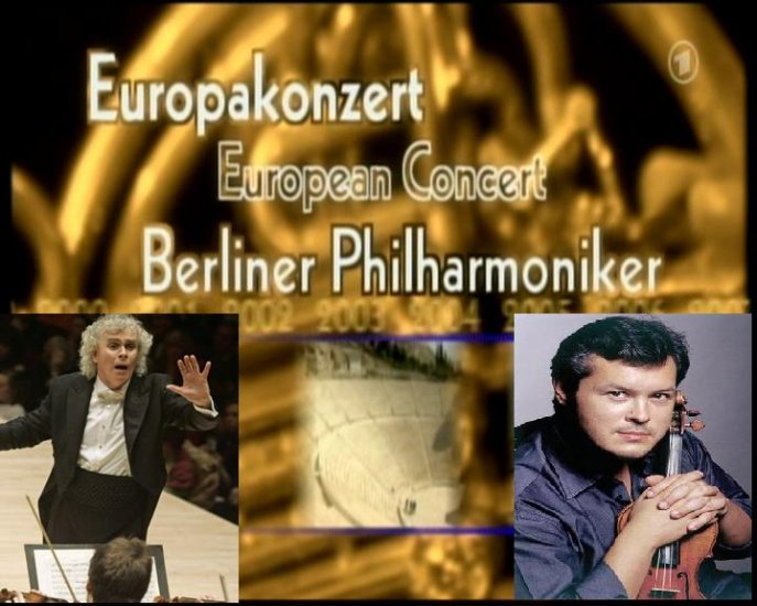 Berliner Philharmoniker Sir Simon Rattle Vadim Repin