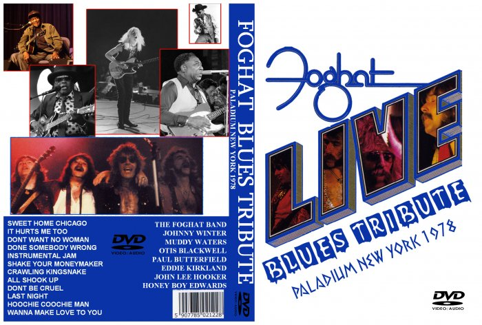 Foghat The Palladium, New York, NY, USA, 1978 DVD