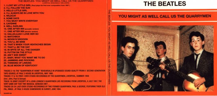 The Beatles- You Might As Well Call Us The Quarrymen