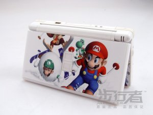 Nintendo DS Lite VINYL SKIN super mario NDSL 04