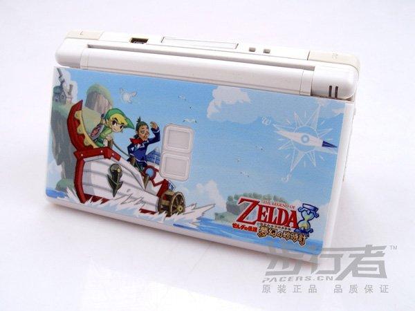 Nintendo DS Lite VINYL SKIN Zelda NDSL 08