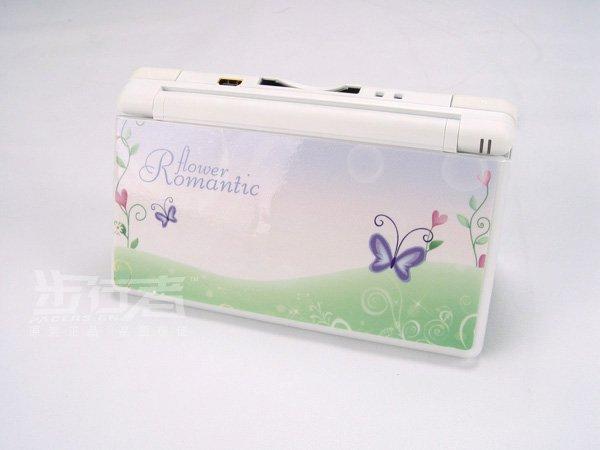 Nintendo DS Lite VINYL SKIN flower romantic NDSL 17
