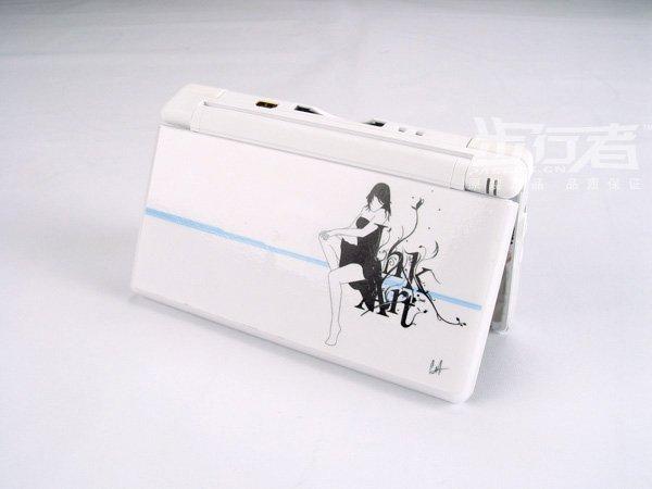Nintendo DS Lite VINYL SKIN girl NDSL 19