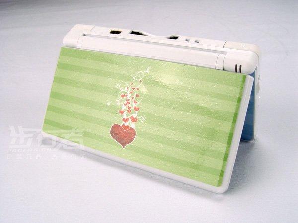 Nintendo DS Lite VINYL SKIN heart NDSL 20