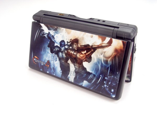 Nintendo DS Lite VINYL SKIN Contra 4 NDSL 24
