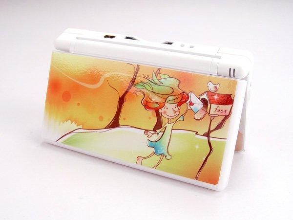 Nintendo DS Lite VINYL SKIN autumn girl NDSL 25