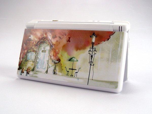 Nintendo DS Lite VINYL SKIN Cafe House NDSL 29