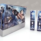Nintendo Wii VINYL SKIN  RESIDENT EVIL 05
