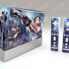 Nintendo Wii VINYL SKIN  RESIDENT EVIL 05