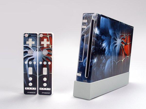 Nintendo Wii VINYL SKIN Spider Man 06