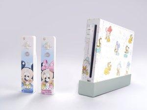 Nintendo Wii VINYL SKIN Disney 09