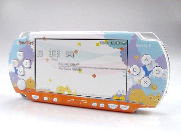 VINYL SKIN for Sony regular PSP Loco Roco 2Sets 05