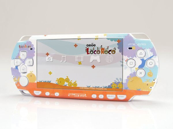 VINYL SKIN for Sony new PSP 2000 Loco Roco 05