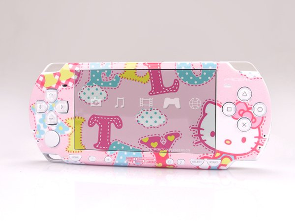 VINYL SKIN for Sony new PSP 2000 Hello Kitty 06