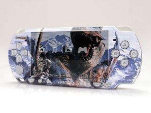VINYL SKIN for Sony new PSP 2000 Monster Hunter 07