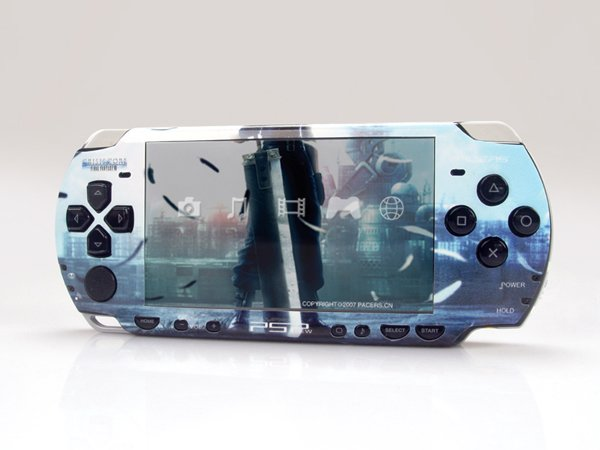 VINYL SKIN for Sony new PSP 2000 Final Fantasy 09