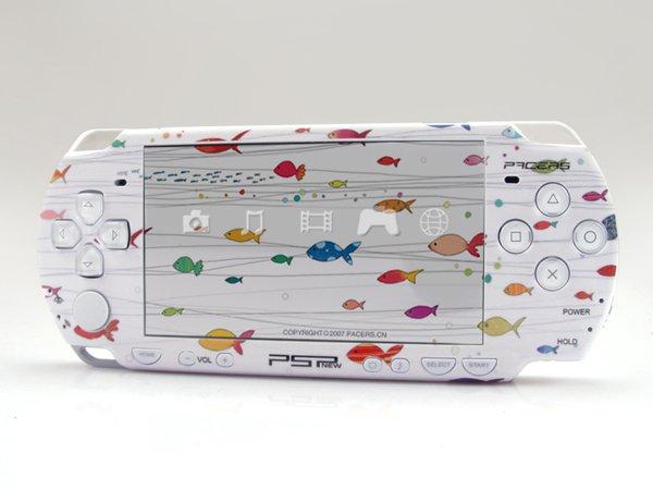 VINYL SKIN for Sony new PSP 2000 Love Fish 10