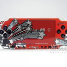 VINYL SKIN for Sony new PSP 2000 Red Theme 17