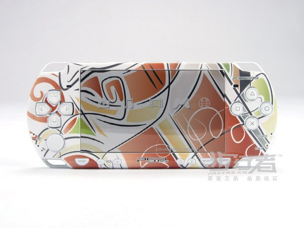 VINYL SKIN for Sony new PSP 2000 Colorful Theme 19
