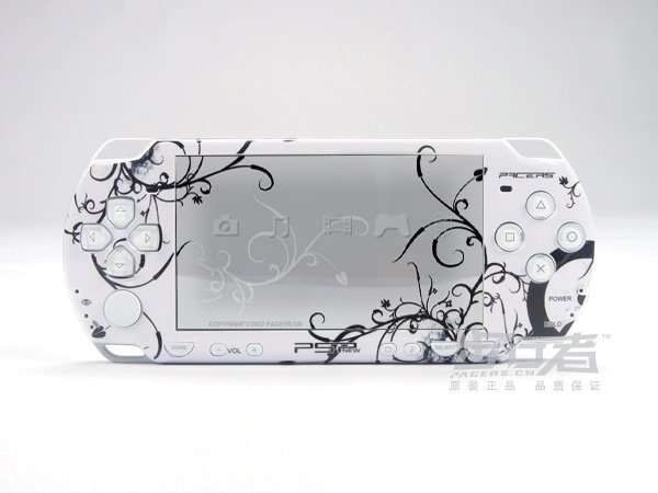 VINYL SKIN for Sony new PSP 2000 White Theme 20