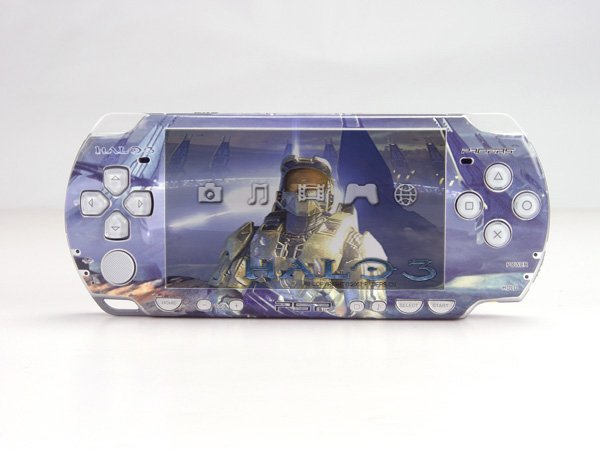 VINYL SKIN for Sony new PSP 2000 Halo 3  22