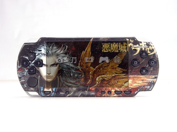 VINYL SKIN for Sony new PSP 2000  Castlevania 24