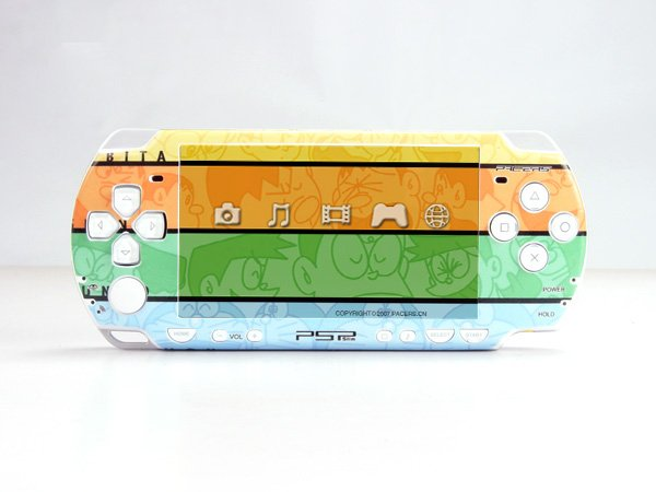 VINYL SKIN for Sony new PSP 2000 Doraemon 26