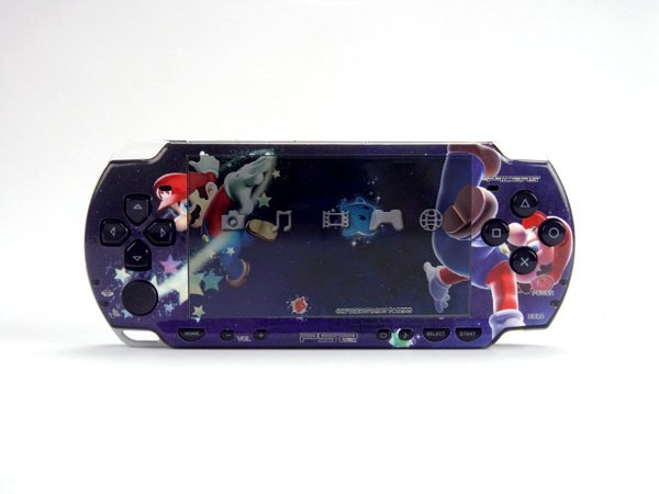 VINYL SKIN for Sony new PSP 2000 Super MarioGalaxy 27