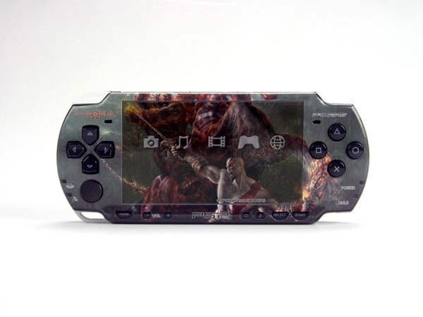 VINYL SKIN for Sony new PSP 2000 God of War 29