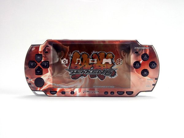 VINYL SKIN for Sony new PSP 2000 Tekkeng 31