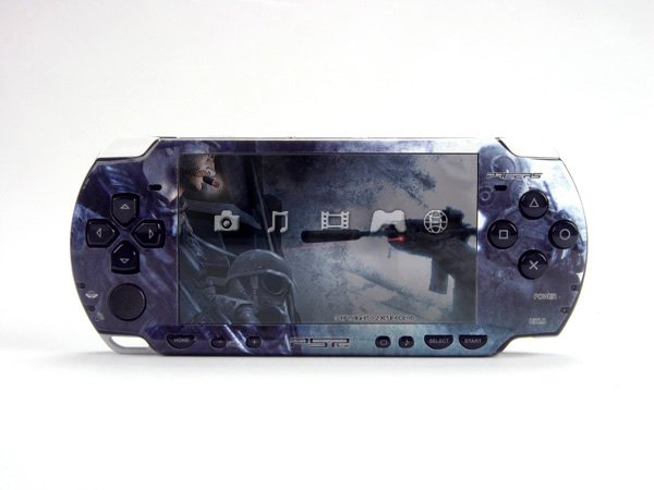 VINYL SKIN for Sony new PSP 2000 Call of Duty 40