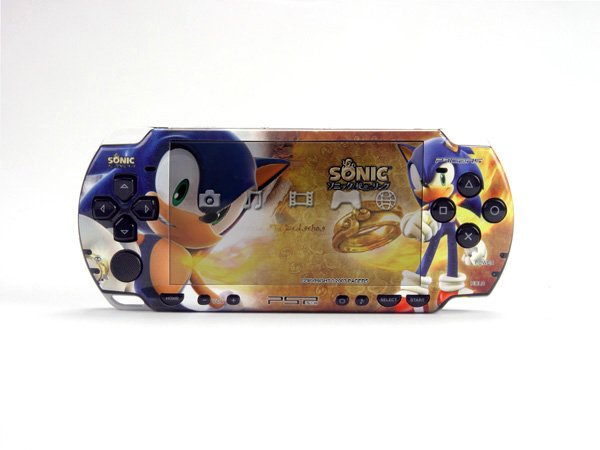 VINYL SKIN for Sony new PSP 2000 Sonic 44