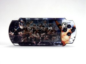 VINYL SKIN for Sony new PSP 2000 WWE 45