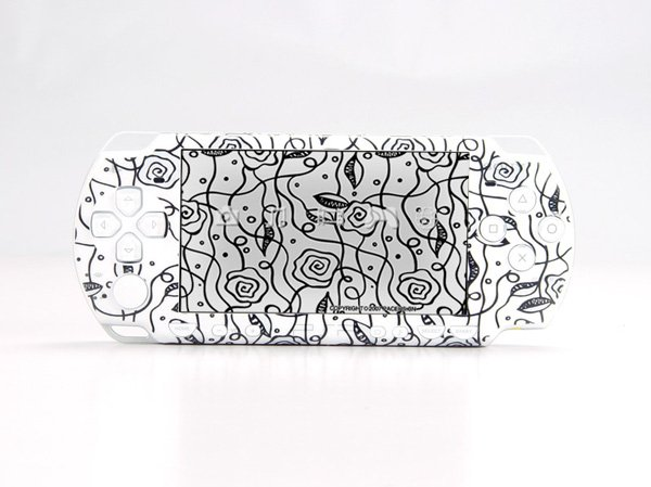 VINYL SKIN for Sony new PSP 2000 black Theme t05