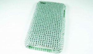Silver Bling Crystal Case Cover for Apple iPod Touch 4 iTouch 4