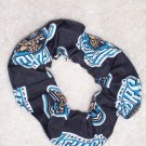 Jacksonville Jaguars Football Fabric Hair Scrunchie Scrunchies NFL