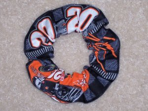 Tony Stewart Home Depot Racing Fabric Hair Scrunchie Scrunchies NASCAR