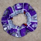 Sacramento Kings Basketball Fabric hair Scrunchie Scrunchie NBA
