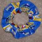 Devner Nuggets Basketball Fabric hair Scrunchie Scrunchies NBA