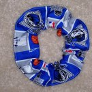 Dallas Mavericks Basketball Fabric Hair Scrunchie Scrunchies NBA