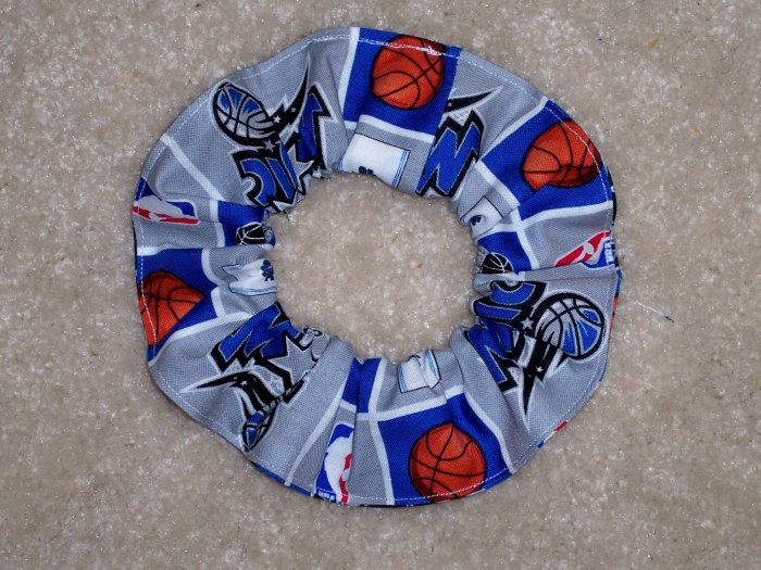 Orlando magic Basketball Fabric Hair Scrunchie Scrunchies NBA