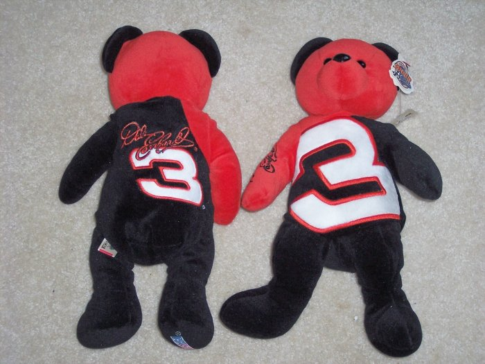 Dale Earnhardt  Racing Beanie Bear by Team Speed NASCAR