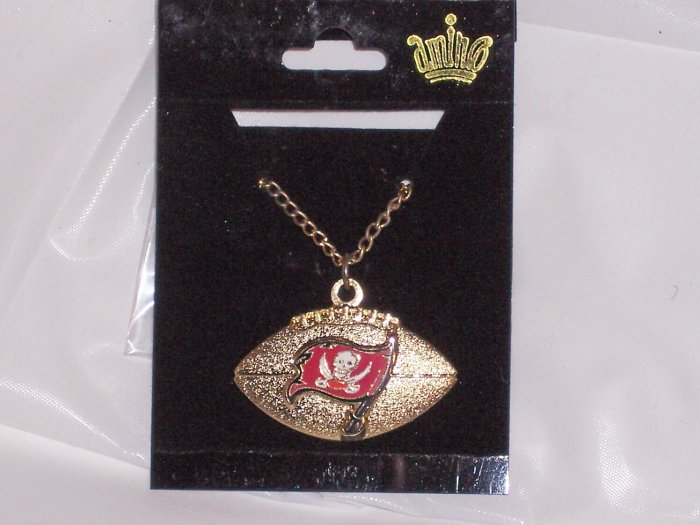 Tampa Bay Buccaneers Football Logo Necklace Pendant NFL